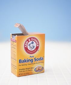 "The Never Ending List of Baking Soda Uses! ~~ Website Quote: ""Exfoliate skin. Wash your face, then apply a soft paste made of three parts baking soda and one part water. Massage gently with a circular motion, avoiding the eye area; rinse clean."""