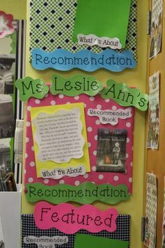 Get your students excited about reading with this fabulous bulletin board idea from @Leslie Lippi Lippi Ann Rowland #teachercreativity