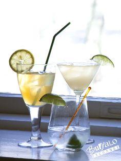Corpse Reviver: - Equal parts (¾ oz) gin - Lemon juice - Lillet Blanc ...