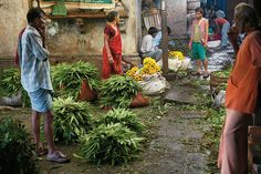 inspired by the calcutta flower market