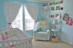 Abigail's Lilly Pulitzer Inspired Nursery | Project Nursery