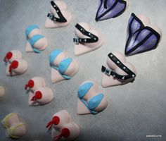 sexy boob cupcake toppers by mzsweetdivine (Sharon/shazza), via Flickr