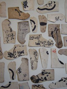 Japanese paper shoes...