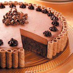 Chocolate Truffle Dessert. #mesadedoces