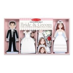 Melissa And Doug Bride And Groom Magnetic Dress-Up