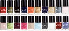 evelyn nail, nail lacquer, fresh shade