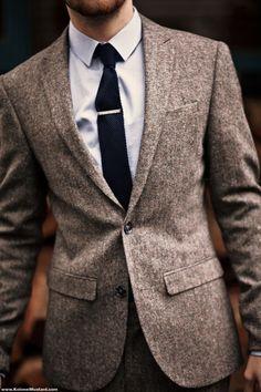 tweed suit by Asos.com