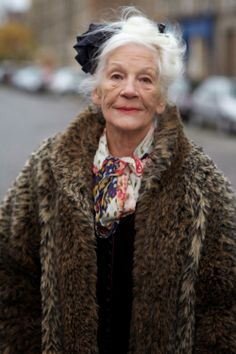 ADVANCED STYLE  Mary Moriarty…..75