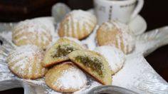 طريقة عمل معمول الفستق الحلبي - Pistachio maamoul recipe