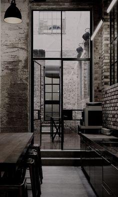 #interior design #industrial style— HAUS STUDIO