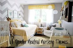 17 Awesome Gender Neutral Nurseries.