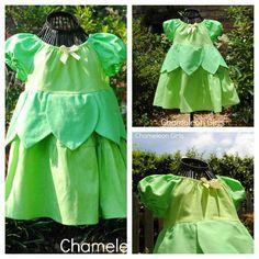 Tinkerbell Disney Princess Peasant Dress Costume Christmas Gift. $50.00, via Etsy.