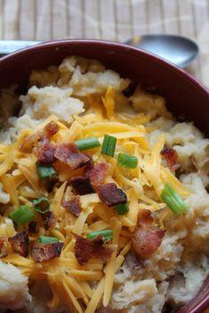 Crock Pot Cheese Potato Soup