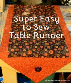 Super Easy to Sew Ta
