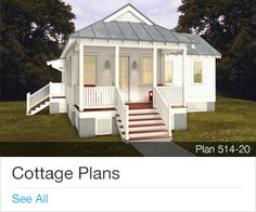 Cottage Plans On Pinterest Cottage House Plans Cottage