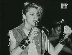 Madonna at the Peppermint Lounge 1983
