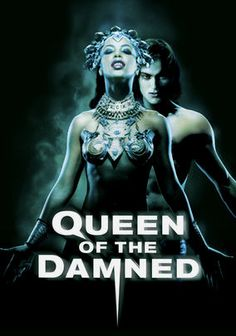 The Queen of the Damned is an adaptation of one of Anne Rice's successful vampire books that stars Aaliyah, who unfortunately died from plane crash shortly after the filming of this movie. Unfortunately, the movie is just decent, which is a disappointment, specially after such a success of The Interview with a Vampire. I think a better casting may have brought up the level of this movie. Movies Tv, Queens Aaliyah, Movie'S Shows, Vampires Book, Anne Rice, Favorite Movie, Movies Book, Movies Music Book, Movie'S Tv