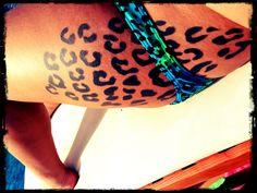 Love my tattoo <3 #leopard