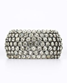 Crystal Stretch Statement Bracelet #ATHauteHoliday