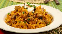Stroganoff Toss - Recipes - Best Recipes Ever - A classic made easy! High notes of caraway and paprika will make this a hit at your dinner table....