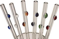 Help balance the unnecessary consumption and waste of the holidays! Buy a Glass Straw or buy several glass straws for you, your friends,and your family!  These glass straws are made with super strong borosilicate glass (same stuff that Pyrex is made with) and carry a lifetimeguarantee!  Moss Envy has these straws available for $37 for a set of 4 with decorative glass dots!  Moss Envy, 3056 Excelsior Blvd, Mpl.  www.mossenvy.com