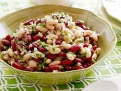 Two Bean Salad #myplate #protein