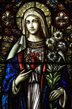 Title of Piece: Immaculate Heart of Mary  Date of Creation: 1926  Location: Basilica of Saint Mary, Minneapolis