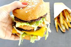 Gluten Free Mock Big Mac