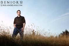 male senior pictures in field | Seattle Senior Portraits with Luke ~Lorraine Marie, Seattle Senior ...