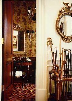 Powder Room Renovation-Spitzmiller & Norris