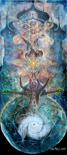 Earthrise #visionaryart #trippy #art #psychedelic #beautiful #visual