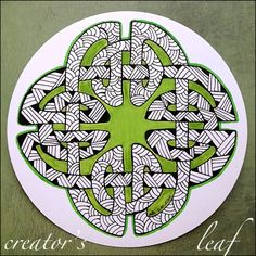celtic knot - www.thecreatorsleaf.blogspot.com