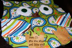 EASY Free Owl Pattern and Tutorial