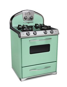 what fun it would be to add this stove to my retro kitchen!