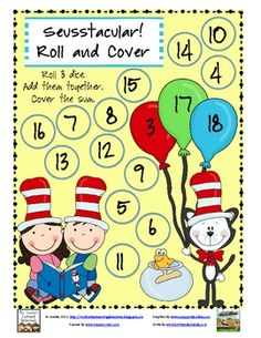 Roll and Cover- Seuss style!
