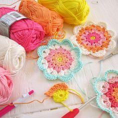 Color 'n Cream: Crochet; lovely colors