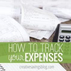 If you`re serious about changing your financial habits, you need to keep track of ALL your spending! The FREE expense tracker found in this post is an essential tool for accountability and change...even if you never take the next step to create an actual budget!