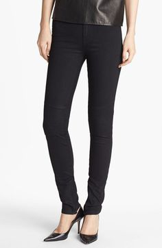 Vince Ankle Zip Skinny Stretch Jeans available at #Nordstrom