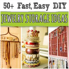 50+ Creative DIY Jewelry Organizers