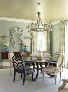 Inspired Interiors by designer, Suzanne Kasler.