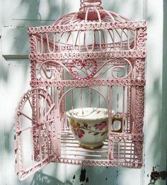 Pretty little birdcage