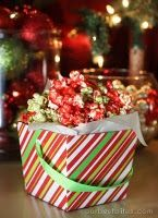Candy popcorn made with Jello, Popcorn and Karo Syrup