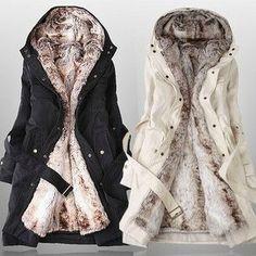 Sexy & warm cotton coat
