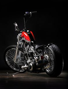 """☼ #motorcycles These photos were taken on April 24, 2011 by Jeff Cochran for his company Speedking. The Panhead chopper Jeff simply calls: """"My 58"""" was featured in the July 2011 edition of the Cycle Source magazine."""