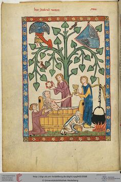 Codex Manesse, Herr Jakob von Warte, Fol 046v, c. 1304-1340