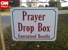 Community Prayer Box, a powerful idea.