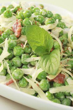 Bacon Ranch Pea Salad Recipe