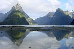 Milford Sounds in Fiordland National Park New Zealand!