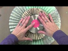 "Jennifer McGuire's tutorial on the very large rosette wreaths.  ""Gorgeous!"""