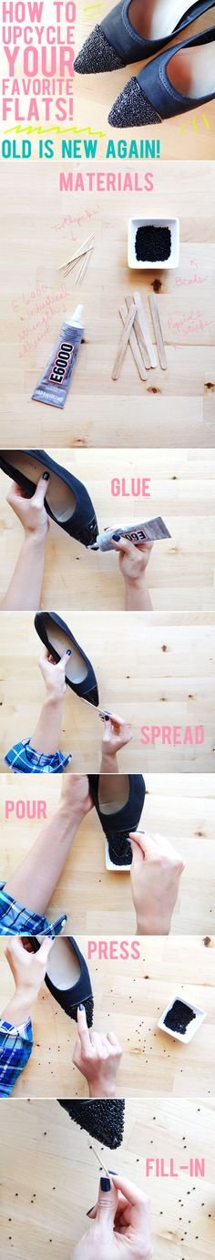 DIY: How to Upcycle Shoes - What a clever idea!